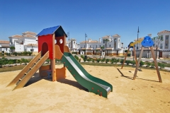 Children's play area on Lubina, La Torre Golf Resort, Murcia.