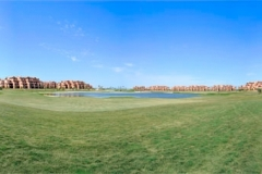 Golf course at Mar Menor Golf Resort 2, Murcia.
