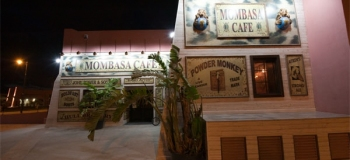 Mombasa Cafe bar at Mar Menor Golf Resort 2, Murcia, Spain.